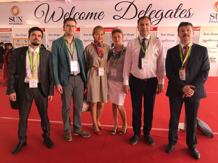 76th annual Conference of All India Ophthalmological Society 22-25 февраля 2018г